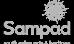 sampad-white logo